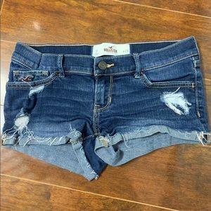 Hollister Jean Shorts Size 0